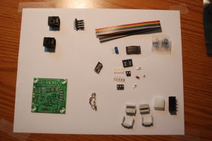 stepper driver unassembled
